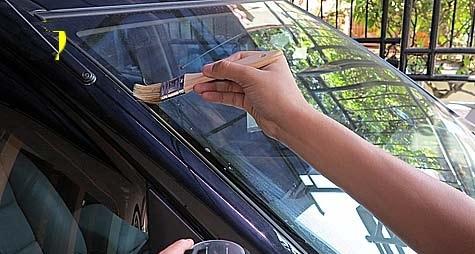 Pabrik sabun dan shampo CONCENTRAT OBAT KERAK JAMUR KACA CONCENTRAT OBAT KERAK JAMUR KACA Formula khusus yang dibuat untuk menghilangkan jamur/kerak pada kaca mobil ini sangat efektif dan cepat karena mengandung unsur bahan aktif